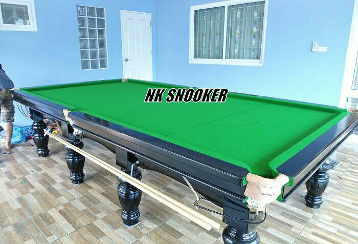 NK SNOOKER โต๊ะสนุ๊ก 6x12 ฟุต ราคาถูก คุณภาพดี โต๊ะสนุกเกอร์ มือ 1 มือ 2 คุณภาพดี โต๊ะสนุ๊ก 5x10,6x12 ฟุต อุปกรณ์สนุ๊กเกอร์ ทุกชนิด Tel.084-6995202 3