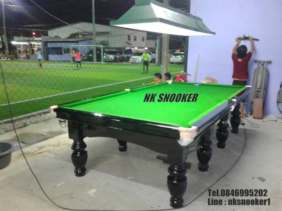 NK SNOOKER โต๊ะสนุ๊ก 6x12 ฟุต ราคาถูก คุณภาพดี โต๊ะสนุกเกอร์ มือ 1 มือ 2 คุณภาพดี โต๊ะสนุ๊ก 5x10,6x12 ฟุต อุปกรณ์สนุ๊กเกอร์ ทุกชนิด Tel.084-6995202 8