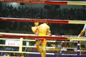 ขาย Thai boxing Match in Bangkok Ratchadomneon Stadieum, Lumphini Stadieum