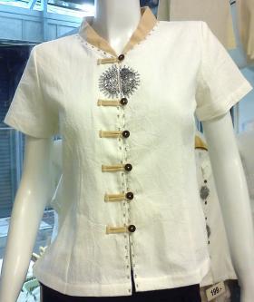 120w size 3xl for Spa uniform cotton
