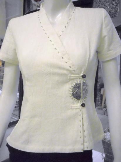 122b w size s for Spa uniform cotton